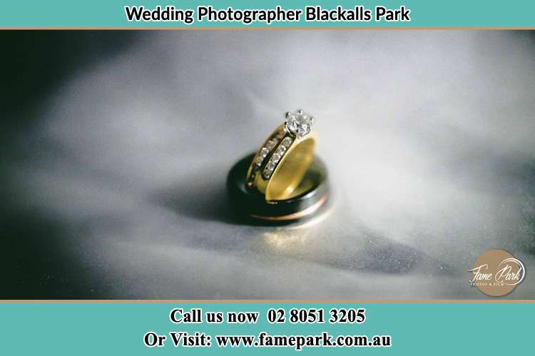 Photo of the wedding ring Blackalls Park NSW 2283