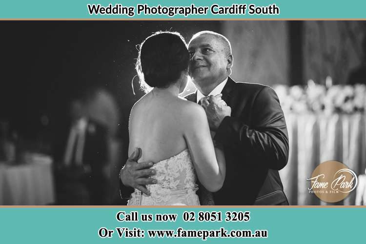 Photo of Bride dance with her Father Cardiff South