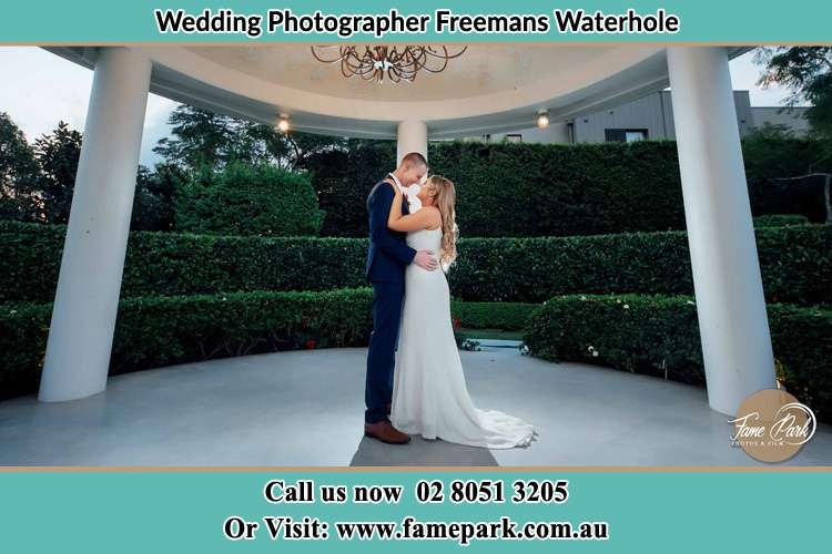Photo of the Groom and the Bride dancing Freemans Waterhole NSW 2323