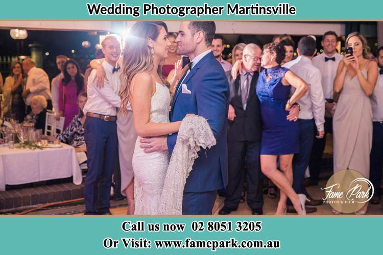 Photo of the Bride and the Groom dancing Martinsville NSW 2265