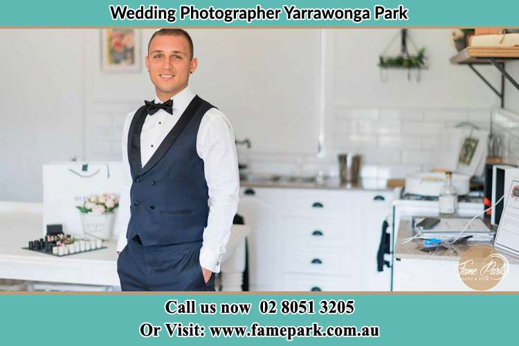 The Groom already prepared Yarrawonga Park
